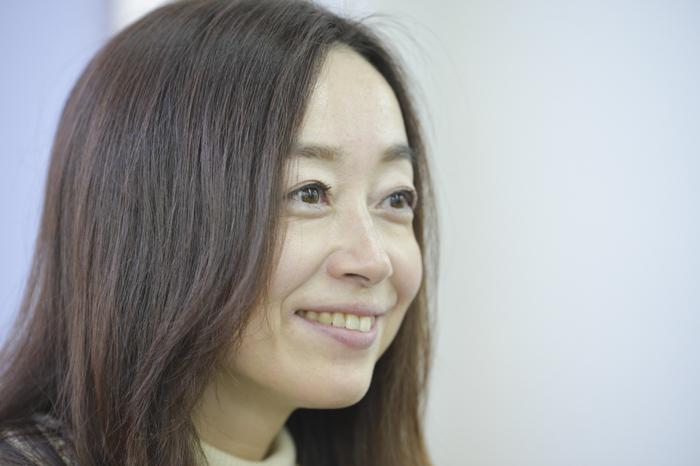 奥田美和さん横顔